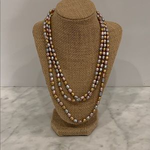 Honora Opera Length Multicolored Pearl Necklace